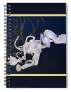 Abstract On-distress Spiral Notebook