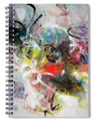 Abstract Painting Colourful Art Spiral Notebook