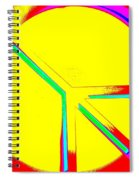 Abstract Peace Spiral Notebook