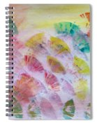 Abstract Petals Spiral Notebook