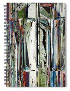 Abstract Piano Keys Spiral Notebook