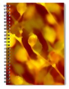Abstract Plants Spiral Notebook