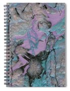 Abstract Pour 3 Spiral Notebook