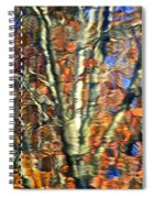 Abstract Reflection Photo Spiral Notebook