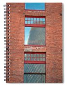 Abstract Reflection Spiral Notebook