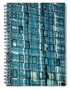 Abstract Reflections In Windows Spiral Notebook