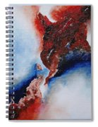 Abstract Rendezvous Spiral Notebook