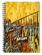 Abstract Roller Coaster Spiral Notebook