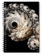 Abstract Seashell Spiral Notebook
