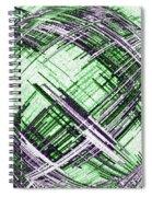 Abstract Spherical Design Spiral Notebook