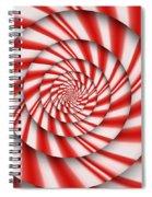 Abstract - Spirals - The Power Of Mint Spiral Notebook