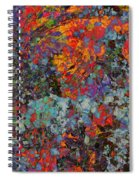 Abstract Spring Spiral Notebook