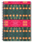 Abstract 814 Spiral Notebook
