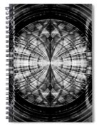 Abstract Structure 2 Spiral Notebook