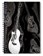 Abstract Taylor Guitars Spiral Notebook
