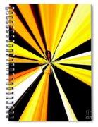 Abstract Tiger Art Spiral Notebook