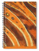 Abstract Tiger Stripes Spiral Notebook