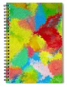 Abstract  Twenty  Of  Twenty  One Spiral Notebook