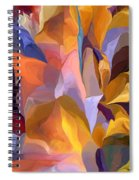 Abstract Vignettes Spiral Notebook