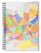 Abstract Virgin Birth Spiral Notebook