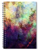 Abstraction 042914 Spiral Notebook