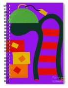 Abstraction 230 Spiral Notebook