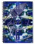 Abstraction 231 Spiral Notebook