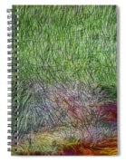 Abstraction Of Life Spiral Notebook