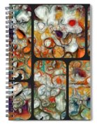 Abstractionnel -29a02 Spiral Notebook