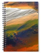 Abstracts Extremophile  Spiral Notebook
