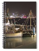Abu Dhabi At Night Spiral Notebook