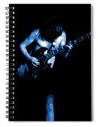 Ac Dc #35 In Blue Spiral Notebook