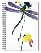 Acacion Dragonfly Spiral Notebook