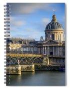 Acadamie Francaise Spiral Notebook