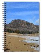 Acadia Beehive In Winter Spiral Notebook