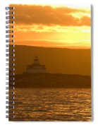 Acadia Lighthouse  Spiral Notebook