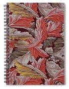 Acanthus Leaf Spiral Notebook