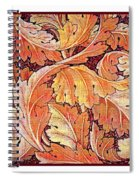 Acanthus Vine Design Spiral Notebook