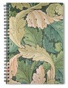 Acanthus Wallpaper Design Spiral Notebook