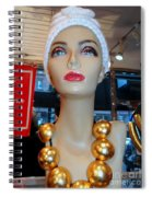 Accent Necklace Spiral Notebook