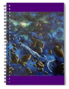 Accidental Asteroid Spiral Notebook