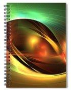 Accretion Disk Spiral Notebook