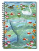 Ace Of Cups Spiral Notebook