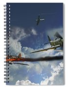 Aces High Spiral Notebook