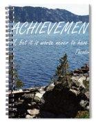 Achieve Spiral Notebook