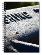 Acme Fishing Tool Spiral Notebook