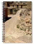 Acoma Pueblo Street Scene Spiral Notebook
