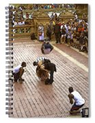 Acrobatics In The Park Spiral Notebook