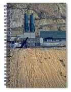 Across The Berkeley Pit Viewing  Spiral Notebook