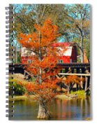 Across The Bridge Spiral Notebook